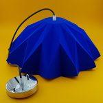 لوستر آبی کاربونی